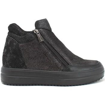 Cipők Női Magas szárú edzőcipők IgI&CO 8158600 Fekete
