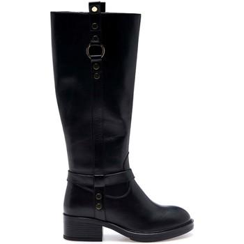 Cipők Női Városi csizmák Apepazza F1BEATRIX11/LEA Fekete