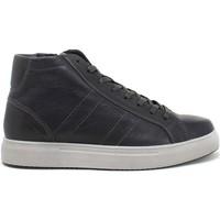 Cipők Férfi Magas szárú edzőcipők IgI&CO 8126822 Kék