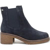 Cipők Női Bokacsizmák CallagHan 29505 Kék