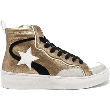 Cipők Női Magas szárú edzőcipők Gold&gold B21 GB159 Barna