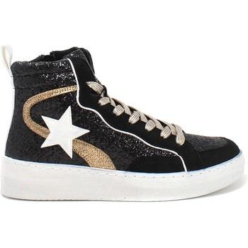 Cipők Női Magas szárú edzőcipők Gold&gold B21 GB159 Fekete