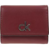 Táskák Női Pénztárcák Calvin Klein Jeans RE Lock Trifold Piros