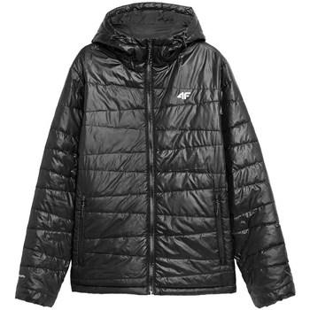Ruhák Férfi Kabátok 4F KUMP005 Fekete