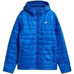 Ruhák Férfi Kabátok 4F KUMP005 Kék