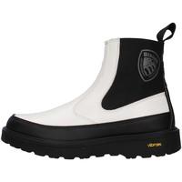 Cipők Női Bokacsizmák Blauer F1GRETNA02/PAT WHITE