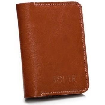 Táskák Pénztárcák Solier SW1119412 Barna