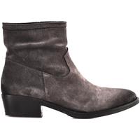 Cipők Női Bokacsizmák Mally 5340 Barna