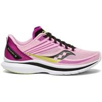 Cipők Női Oxford cipők & Bokacipők Saucony Kinvara 12 Rózsaszín