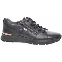 Cipők Női Oxford cipők & Bokacipők Jana 882373027 805 Fekete