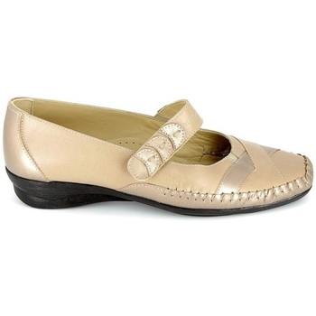 Cipők Női Szandálok / Saruk Boissy Sandale Platine Beige Bézs