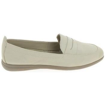 Cipők Női Oxford cipők & Bokacipők Jana Mocassin 24600 beige Bézs
