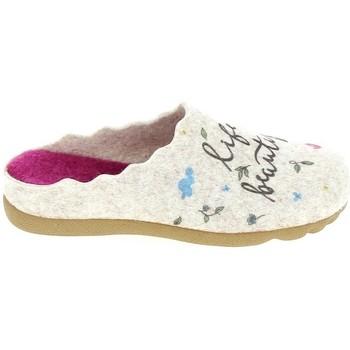 Cipők Női Mamuszok Boissy JM65473 Beige Bézs