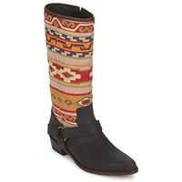 Cipők Női Városi csizmák Sancho Boots CROSTA TIBUR GAVA Barna-piros