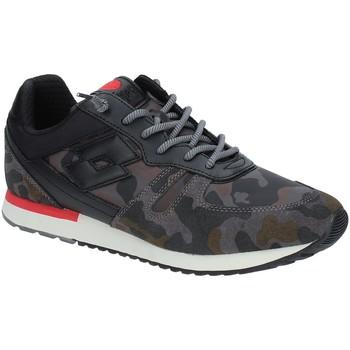 Cipők Férfi Rövid szárú edzőcipők Lotto T7394 Fekete