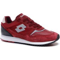 Cipők Férfi Rövid szárú edzőcipők Lotto 212405 Piros