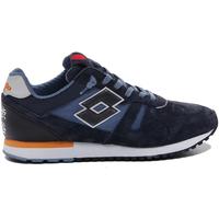 Cipők Férfi Rövid szárú edzőcipők Lotto 212406 Kék