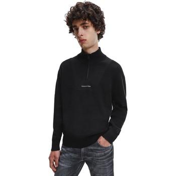 Ruhák Férfi Pulóverek Calvin Klein Jeans J30J318611 Fekete