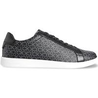 Cipők Férfi Rövid szárú edzőcipők Calvin Klein Jeans HM0HM00262 Fekete