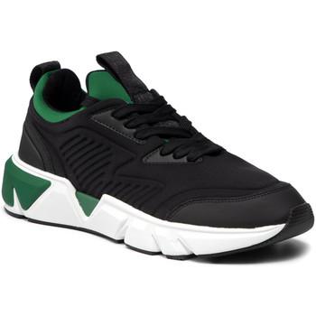 Cipők Férfi Rövid szárú edzőcipők Calvin Klein Jeans HM0HM00286 Fekete