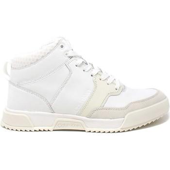 Cipők Férfi Magas szárú edzőcipők Calvin Klein Jeans HM0HM00290 Fehér