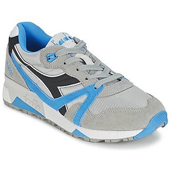 Cipők Rövid szárú edzőcipők Diadora N9000  NYL Szürke / Kék / Fekete