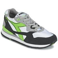 Cipők Rövid szárú edzőcipők Diadora N-92 Fehér / Fekete  / Zöld