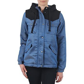 Ruhák Női Parka kabátok Nikita EXPLORER Kék