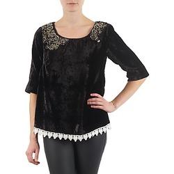 Ruhák Női Hosszú ujjú pólók Lollipops PILOW TOP Fekete