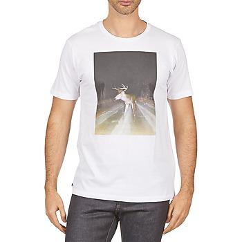 Ruhák Férfi Rövid ujjú pólók Kulte BALTHAZAR PLEIN PHARE 101931 BLANC Fehér