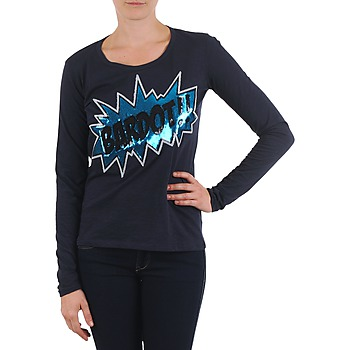 Ruhák Női Hosszú ujjú pólók Brigitte Bardot BB43130 Kék
