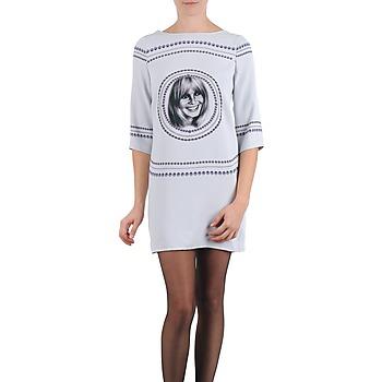 Ruhák Női Rövid ruhák Brigitte Bardot BB43121 Szürke