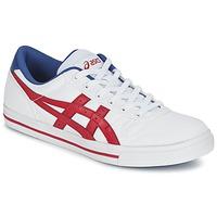 Cipők Rövid szárú edzőcipők Asics AARON Fehér / Piros