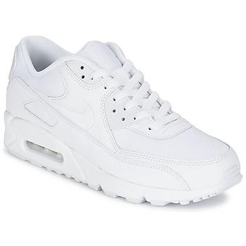 Cipők Férfi Rövid szárú edzőcipők Nike AIR MAX 90 ESSENTIAL Fehér
