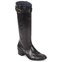 Cipők Női Városi csizmák Stephane Gontard VERONIQUE Fekete