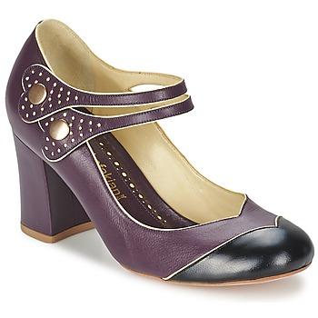 Cipők Női Félcipők Sarah Chofakian ZUT Bordó / Fekete