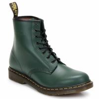 Cipők Női Bokacsizmák Dr Martens 1460 8 EYE BOOT Zöld