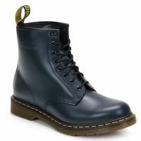 Cipők Bokacsizmák Dr Martens 1460 8 EYE BOOT Kék