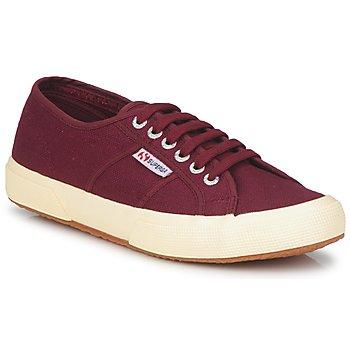 Cipők Rövid szárú edzőcipők Superga 2750 COTU CLASSIC Sötét / Bordó