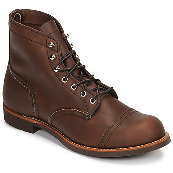 Shoes Férfi Csizmák Red Wing IRON RANGER Barna