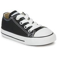 Cipők Gyerek Rövid szárú edzőcipők Converse ALL STAR OX Fekete