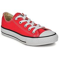 Cipők Gyerek Rövid szárú edzőcipők Converse ALL STAR OX Piros