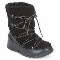 Cipők Női Hótaposók FitFlop SUPERBLIZZ Fekete