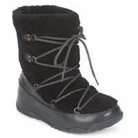 Shoes Női Hótaposók FitFlop SUPERBLIZZ Fekete