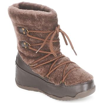 Cipők Női Hótaposók FitFlop SUPERBLIZZ Csokoládé
