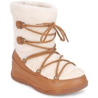Cipők Női Hótaposók FitFlop SUPERBLZZ Bézs / Barna