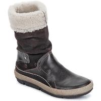 Shoes Női Csizmák Snipe POLIGHT SUEDE DOUBLE FACE Csokoládé / Barna