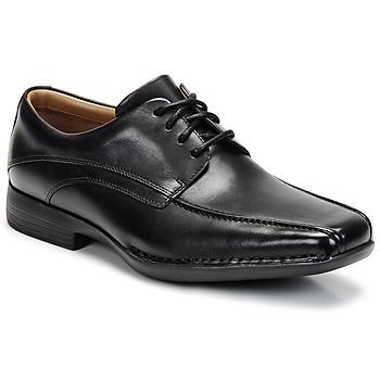 Cipők Férfi Oxford cipők Clarks FRANCIS Fekete