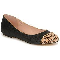 Cipők Női Balerina cipők / babák Ravel KENNEDY Fekete