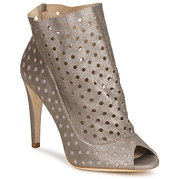 Cipők Női Bokacsizmák Bourne RITA Ezüst